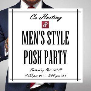 🥂Co-Hosting My 1st Posh Party 10/02 7:00 pm EST🥂